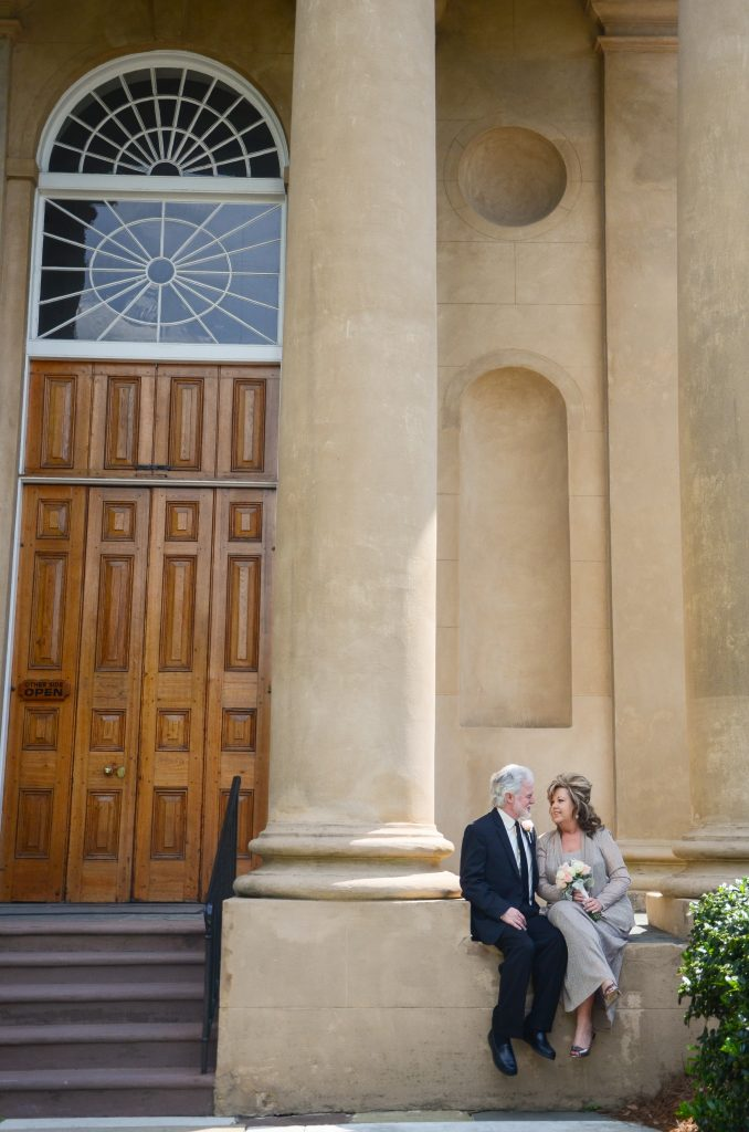 Wedding Photos at St. Philips Church in Downtown Charleston SC