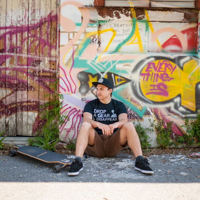 Jonathan | Longboard Senior Photos in Charleston, SC