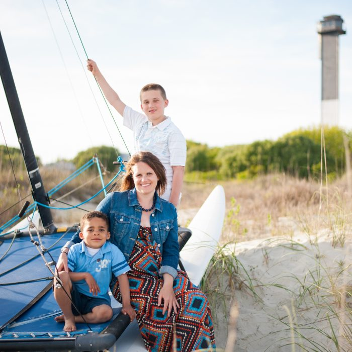 The Cornick Family | Sullivan's Island Family Session