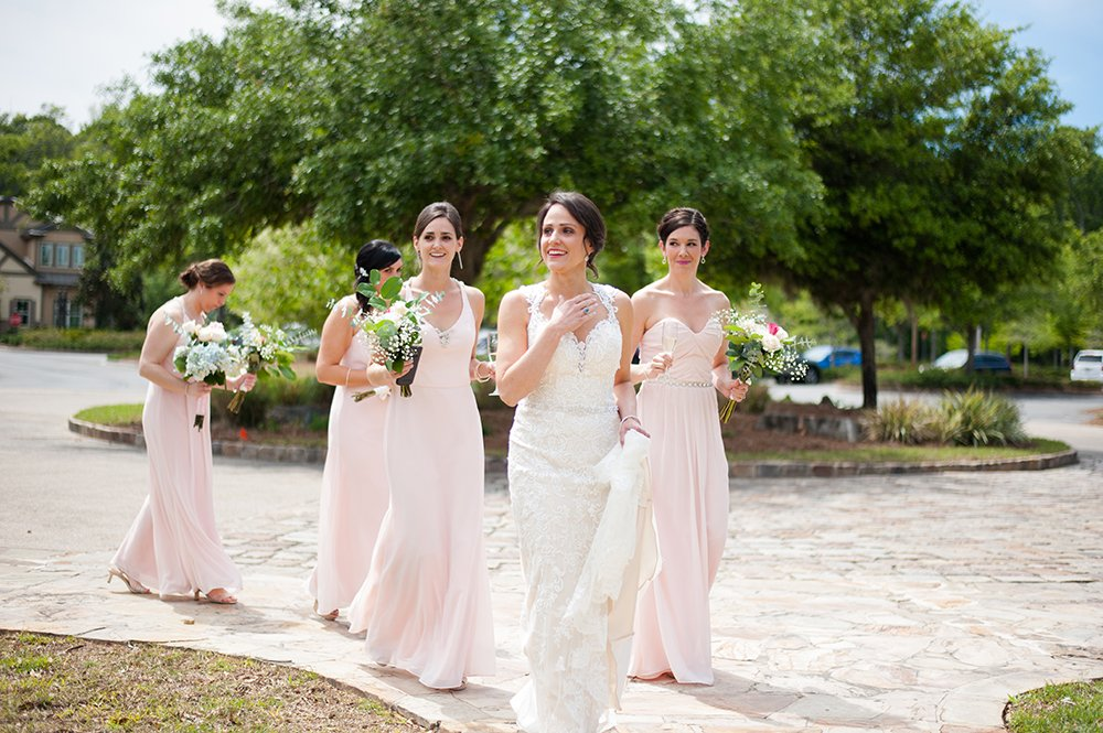 Hampton Lake Bluffton SC wedding photos