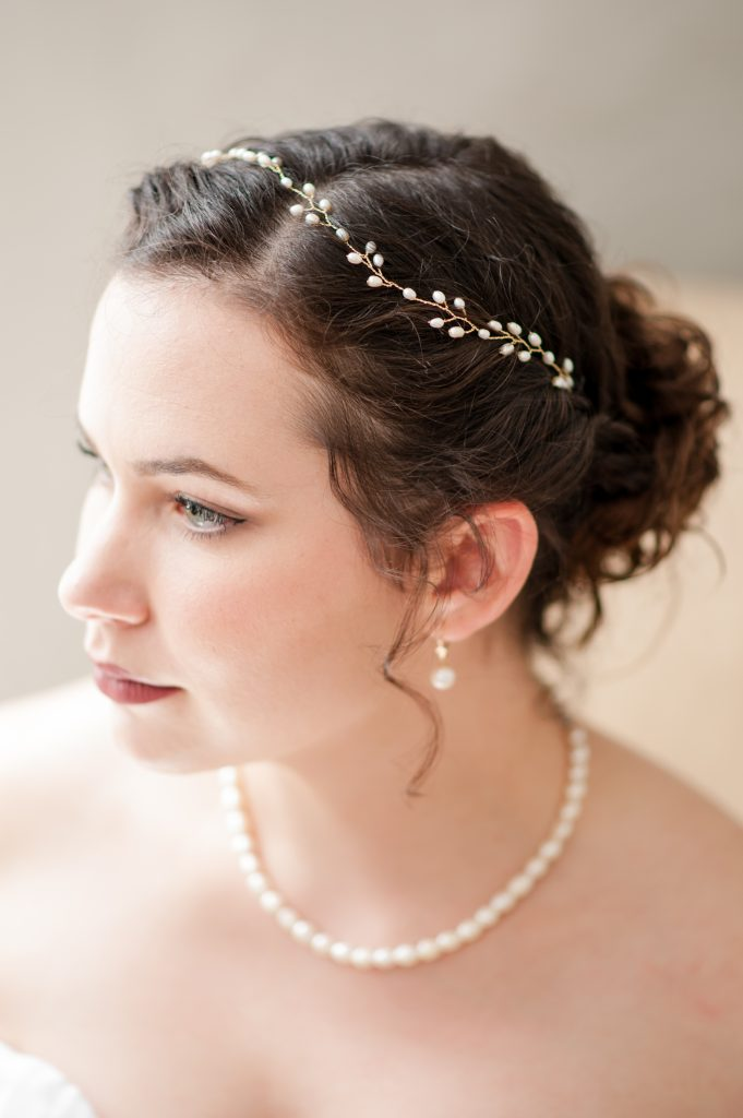 Bridal portrait in Charleston, SC
