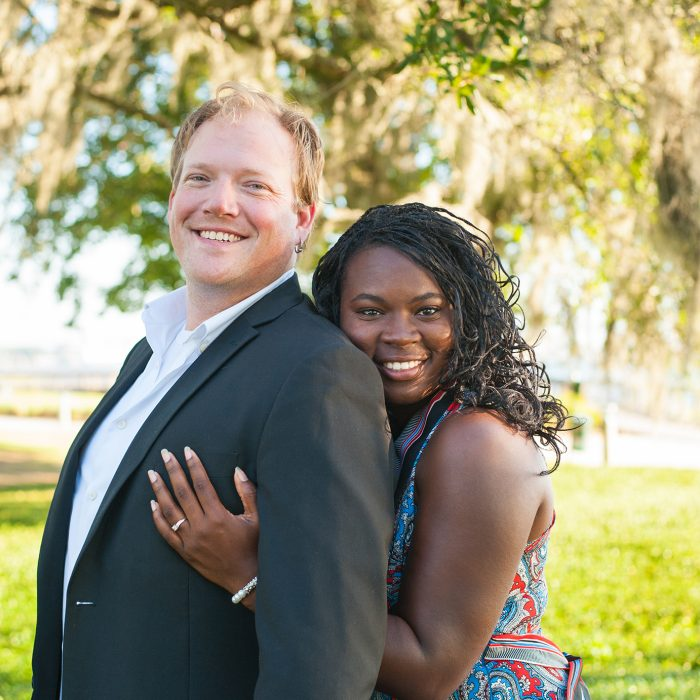 Riverfront Park Engagement Photos | Charleston Wedding Photographer