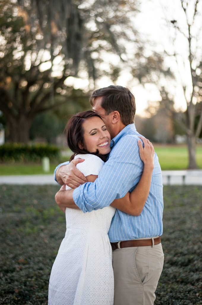 Charleston SC engagement photos Riverfront Park