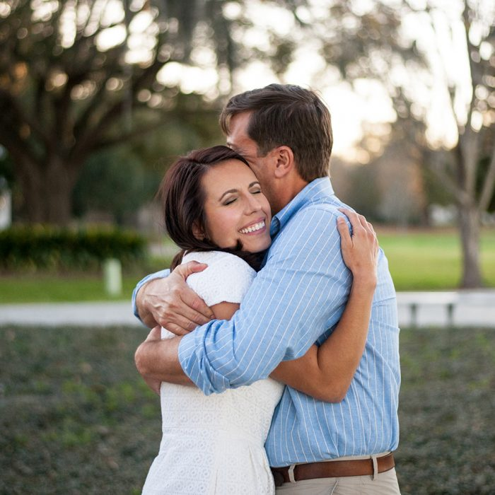 Rosey + David | Charleston Engagement Photos at Riverfront Park