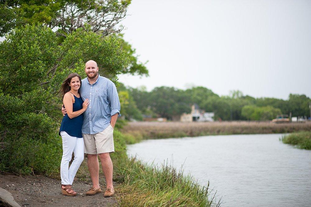 Pitt Street Bridge Engagement Photos, Charleston wedding photographer, marsh