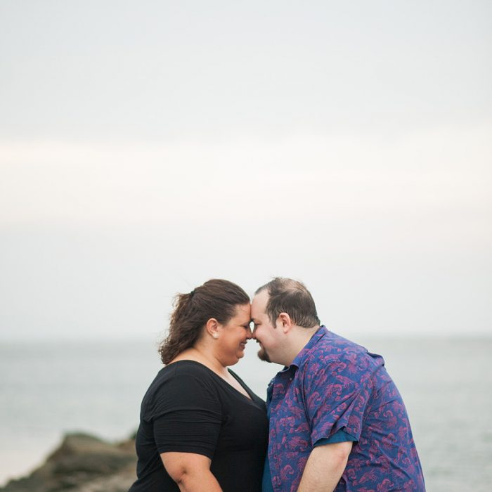 Sullivan's Island Engagement Session | Laura + Baron
