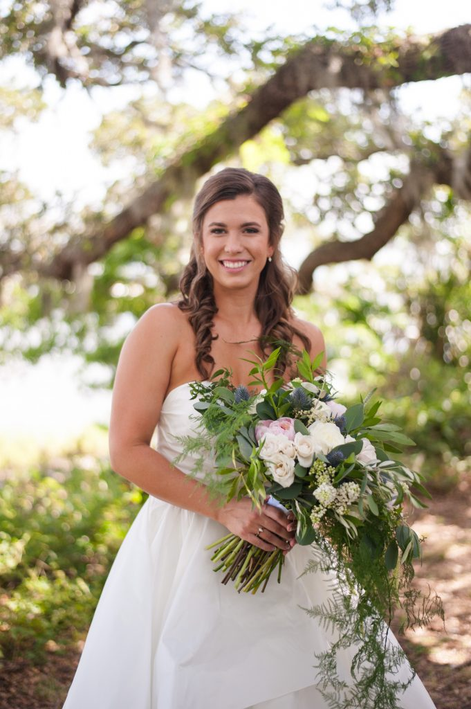 Charleston bridal portrait by Charleston Wedding photographer Cameron Thomas