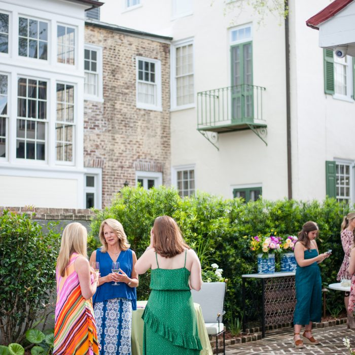 Garden Cocktail Party | Charleston Bachelorette Party