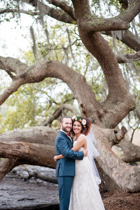 boone hall cotton dock wedding