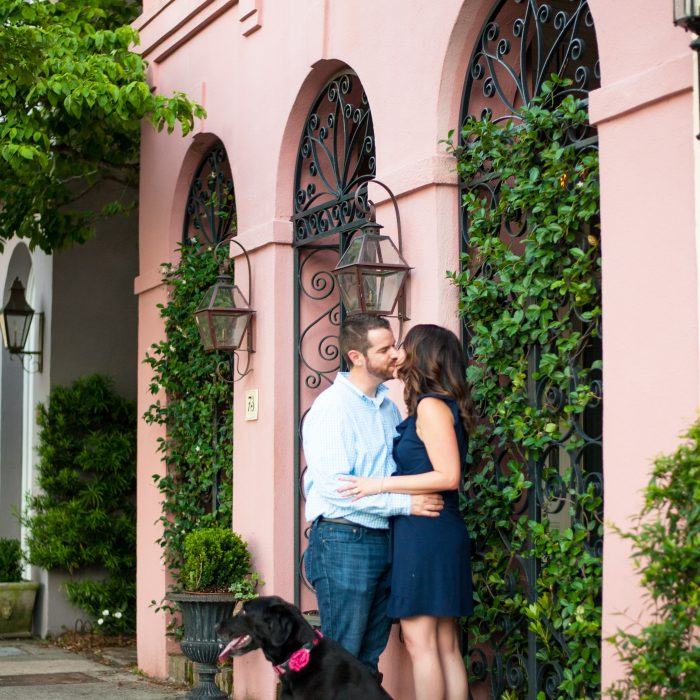 Suzanne + Kevin | Downtown Charleston Couples Session