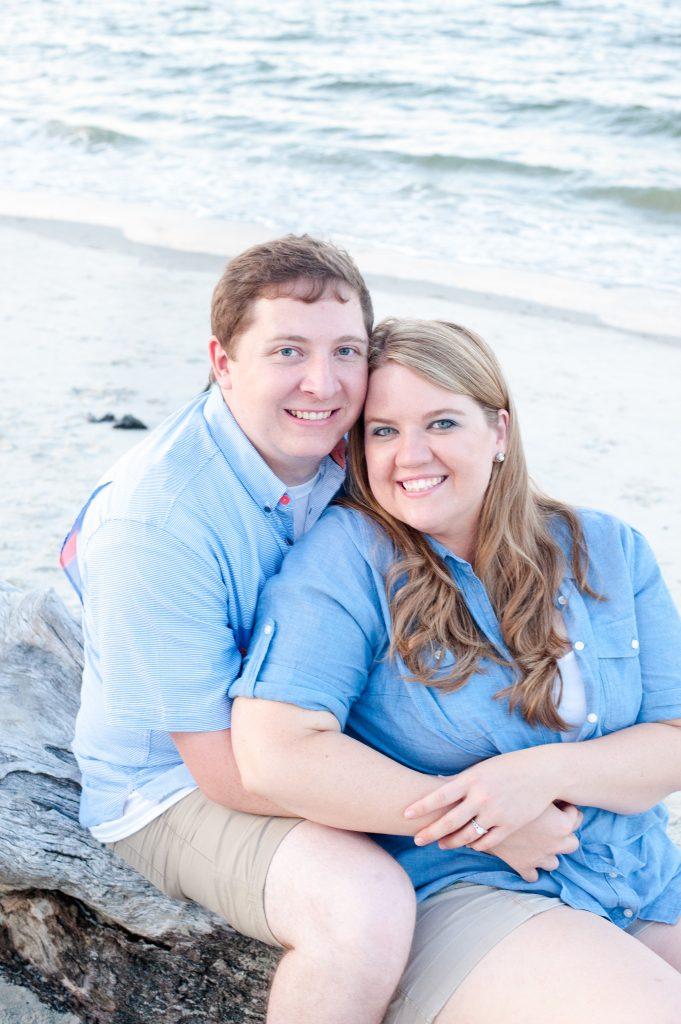 Folly Beach Engagement Photos