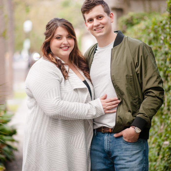 Kaitlin + Drew | Downtown Charleston Engagement Session