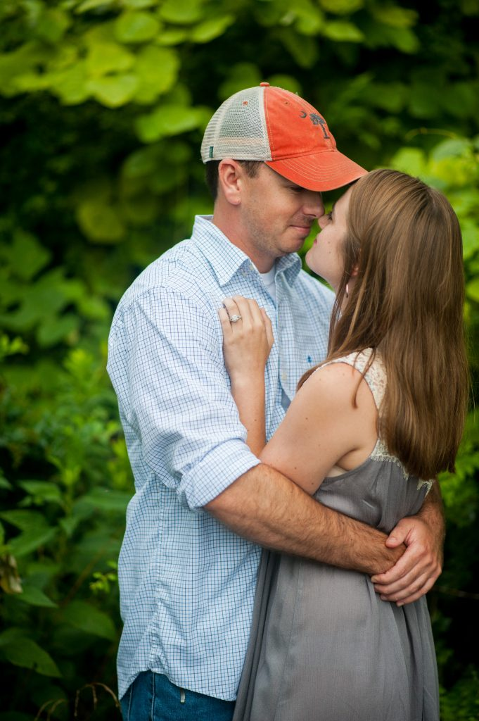 Strawberry Chapel Engagement photos near Charleston SC