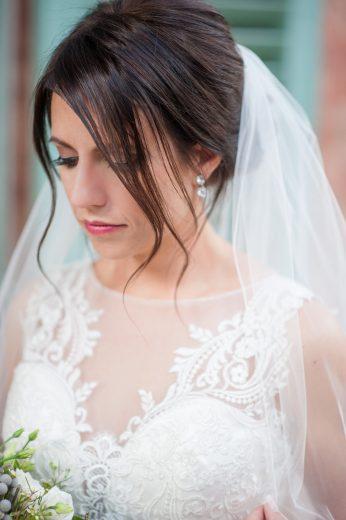 College of Charleston bridal photos
