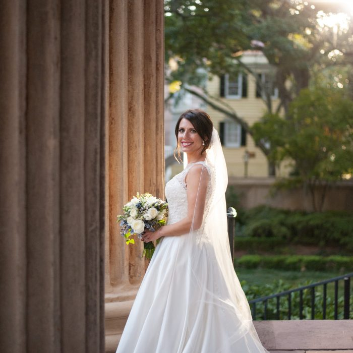 Rosey | College of Charleston Bridal Portraits