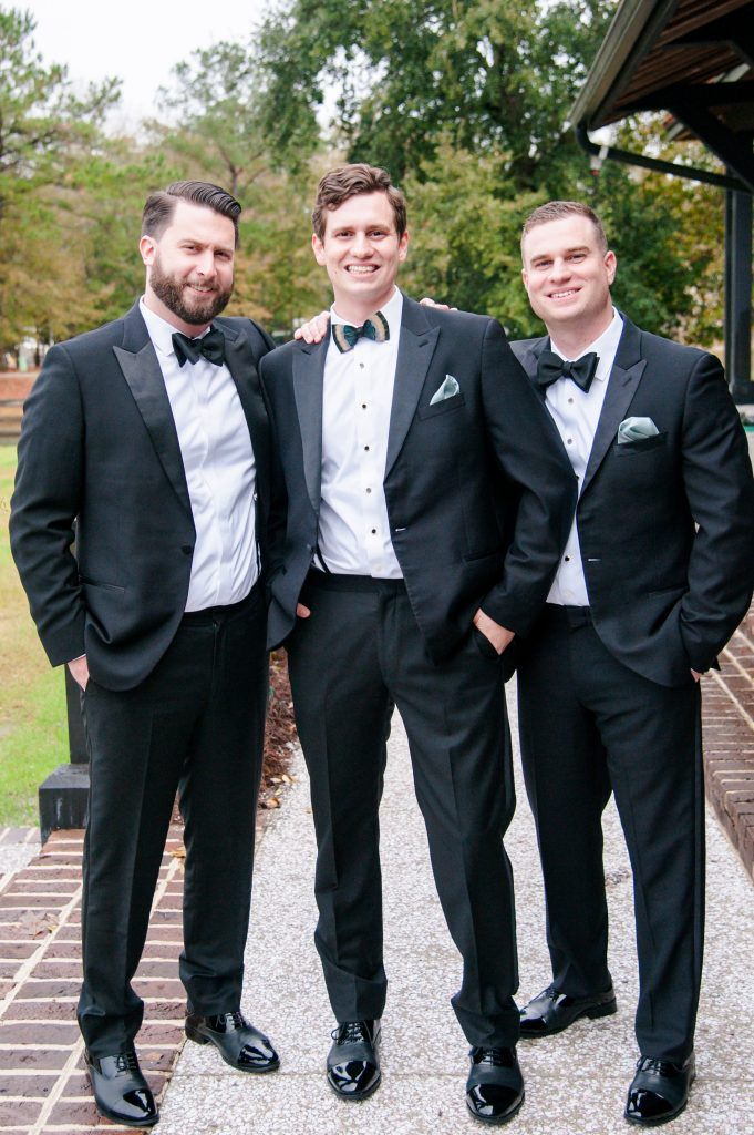Pepper Plantation wedding in Charleston, SC groomsmen