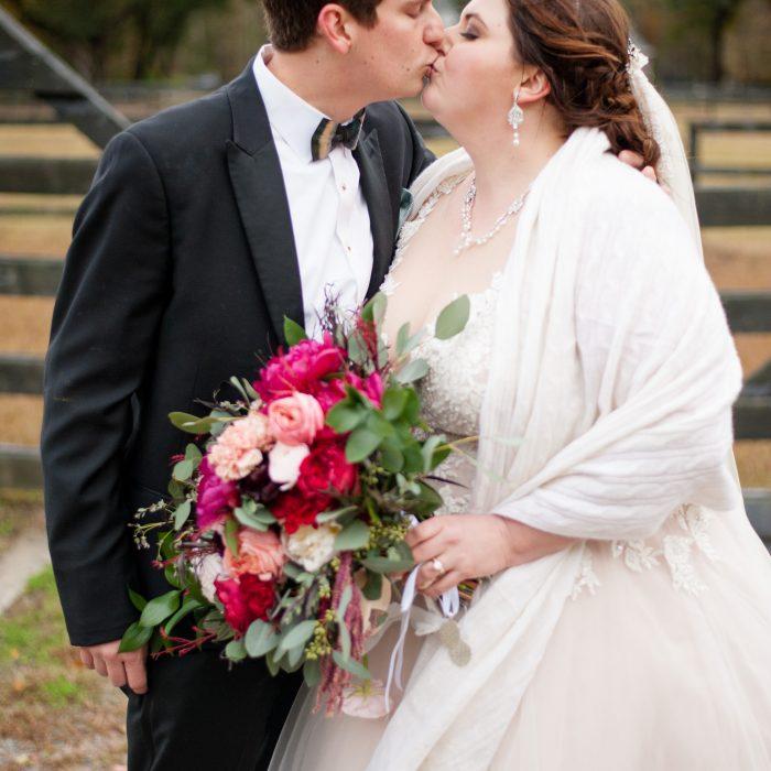 Kaitlin + Drew | Winter Wedding at Pepper Plantation