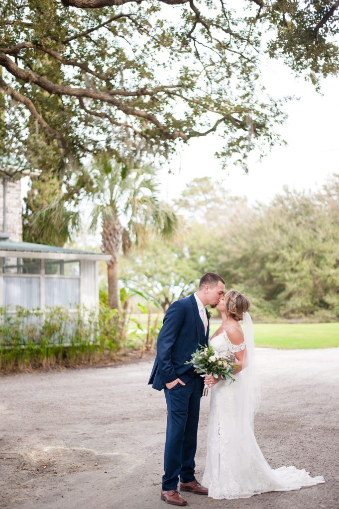 Charleston wedding photographer at the Island House