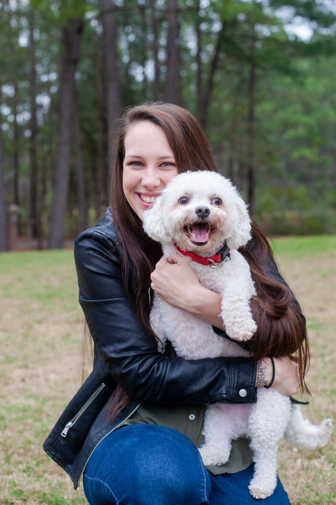 charleston wannamaker park portraits with dogs