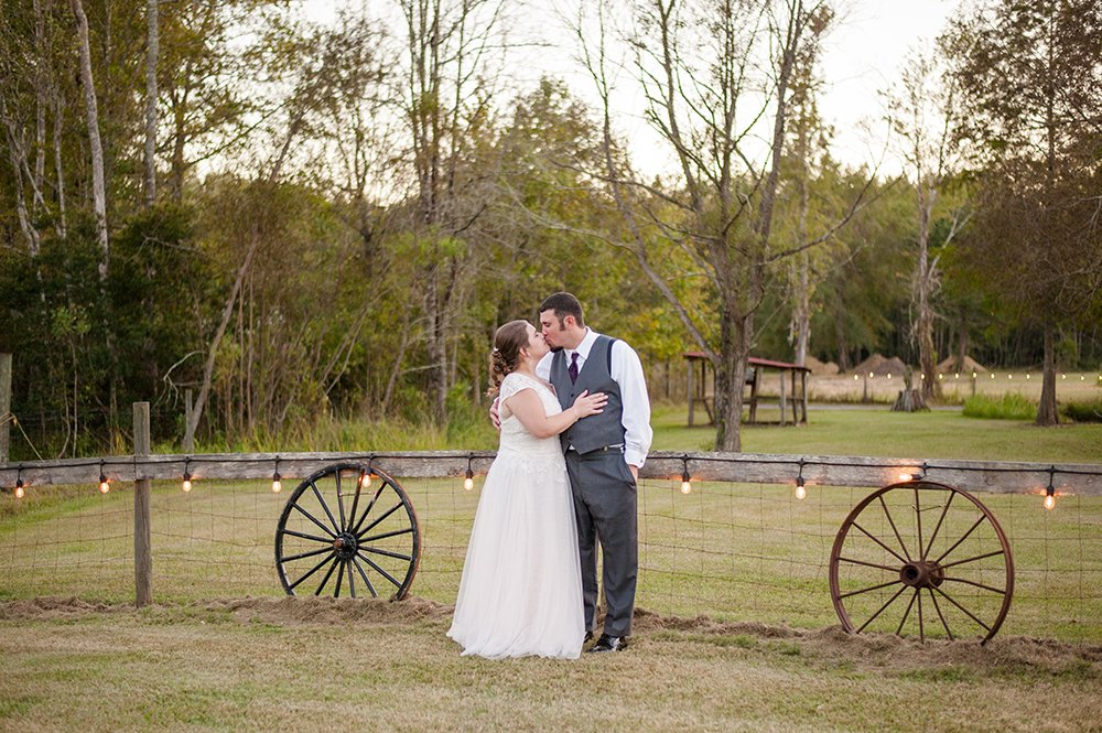 Barn wedding in Charleston at the Barn on Summers Drive