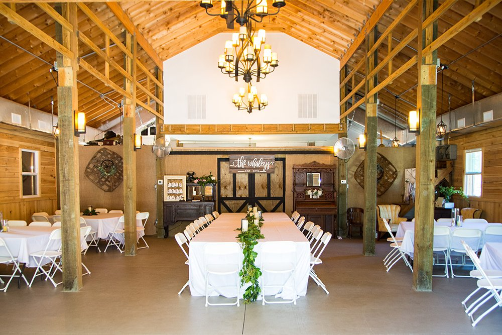 The Barn on Summers Drive barn wedding in Charleston