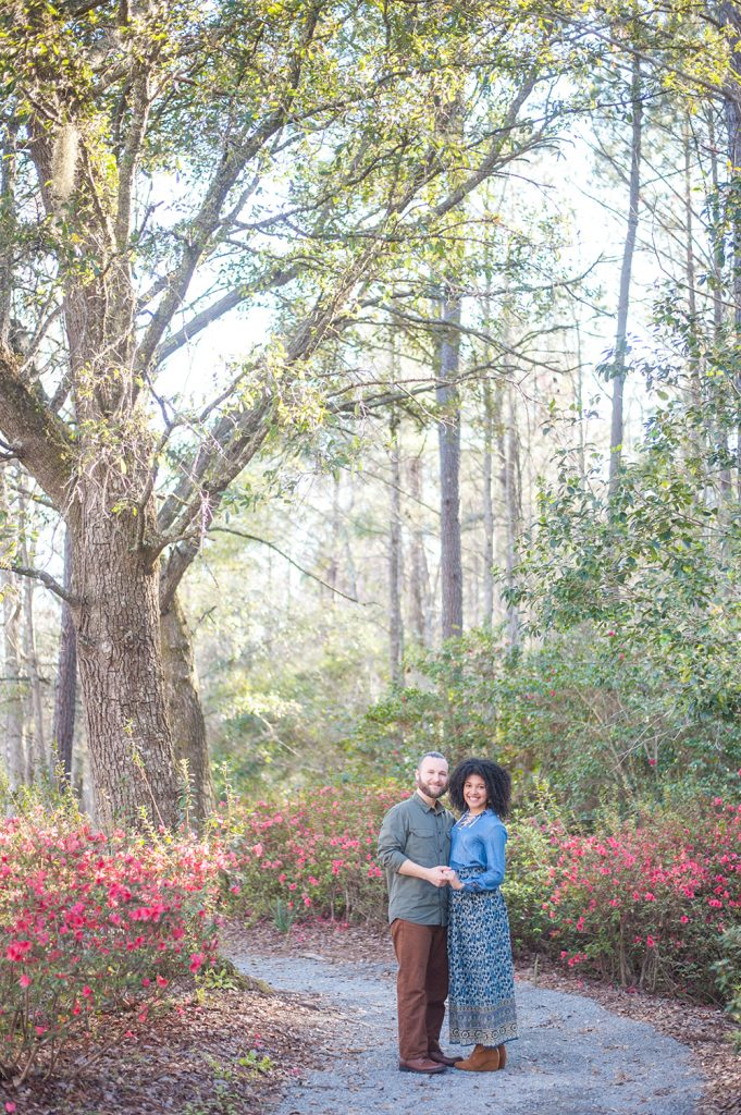 Cypress Gardens anniversary engagement session