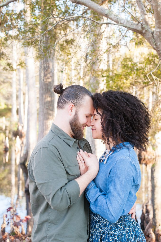 Cypress Gardens anniversary engagement photos