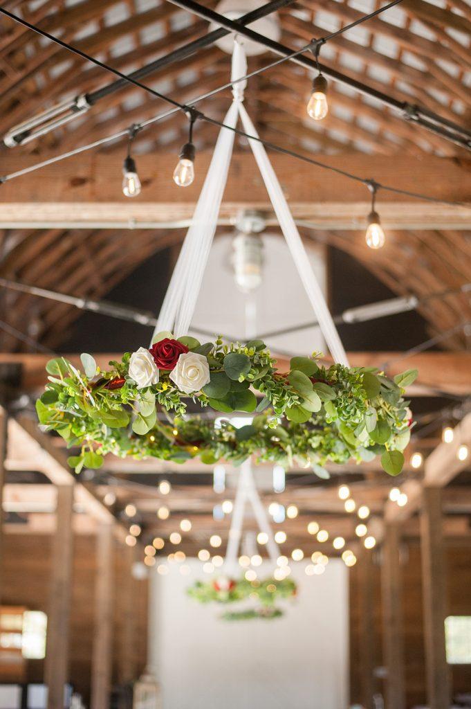 the green barn at carnes crossroads wedding in summerville, SC