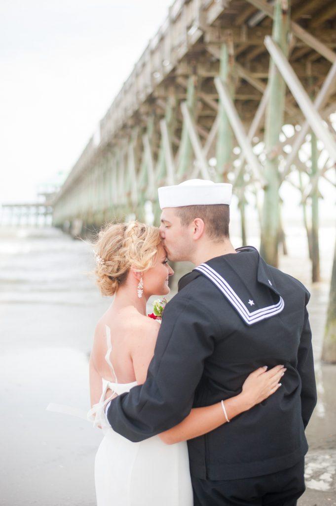 folly beach elopement wedding