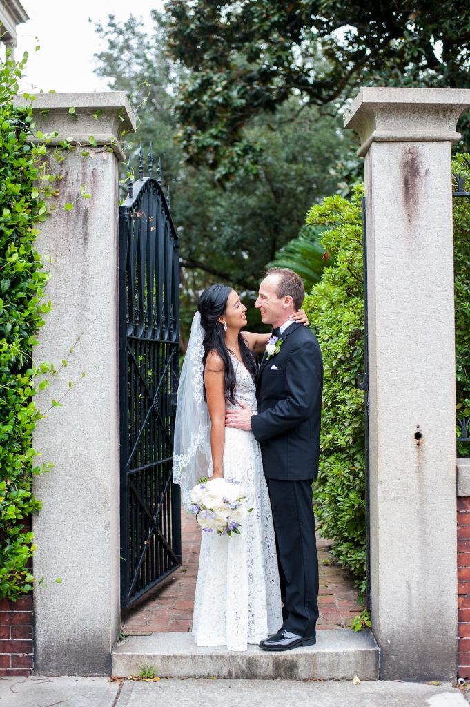 Wentworth Mansion and Circa 1886 wedding in Charleston, SC