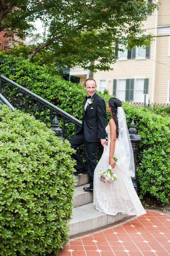 Wentworth Mansion wedding in Charleston, SC