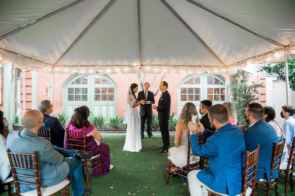 Circa 1886 wedding in Charleston, SC