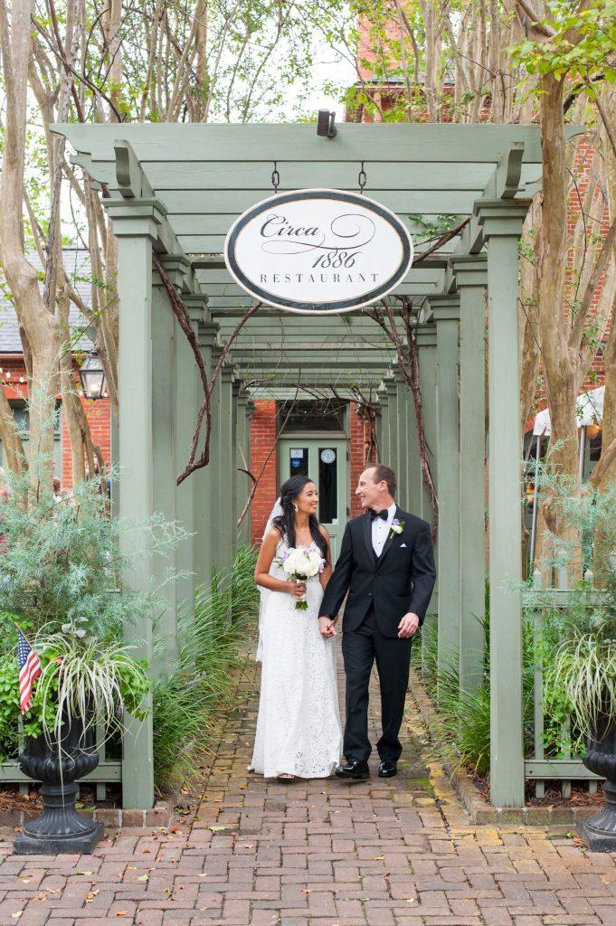 Wedding at Circa 1886 in Charleston