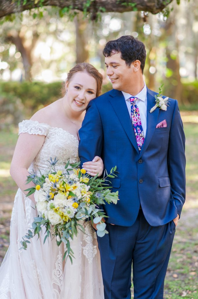 Forsyth Park wedding in savannah