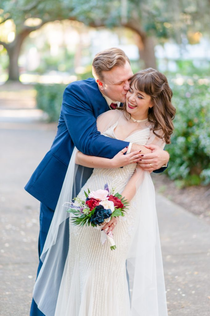 Savannah elopement at Forsyth Park