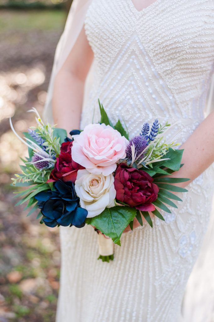 diy elopement bouquet