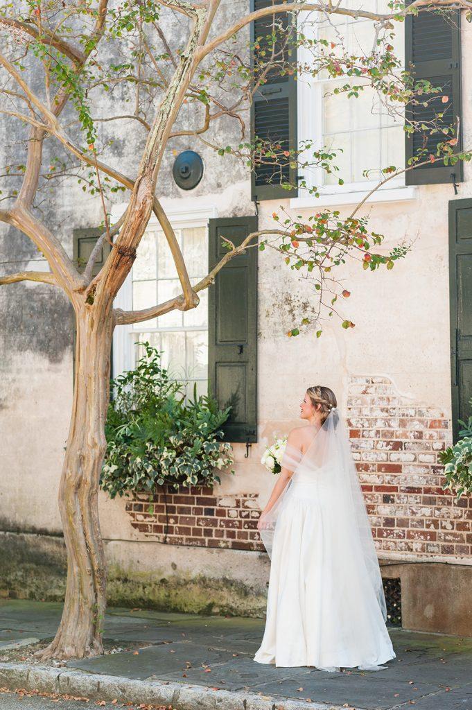 Wedding in downtown Charleston