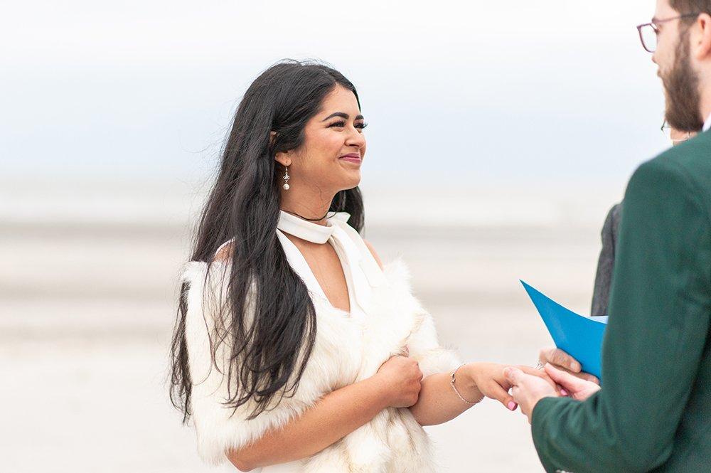 ceremony on Folly Beach