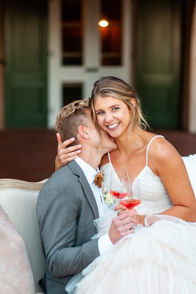 wedding at Oldfield River Club