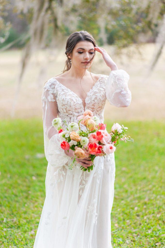 bridal photo at Runnymede