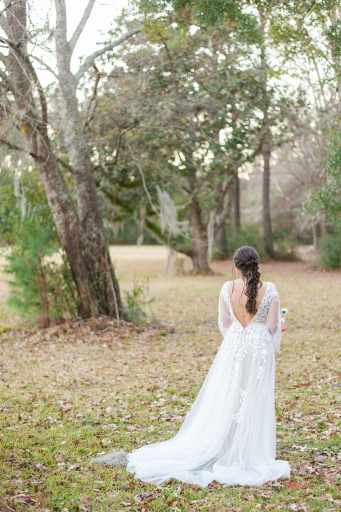 Runnymede Plantation bridal portrait