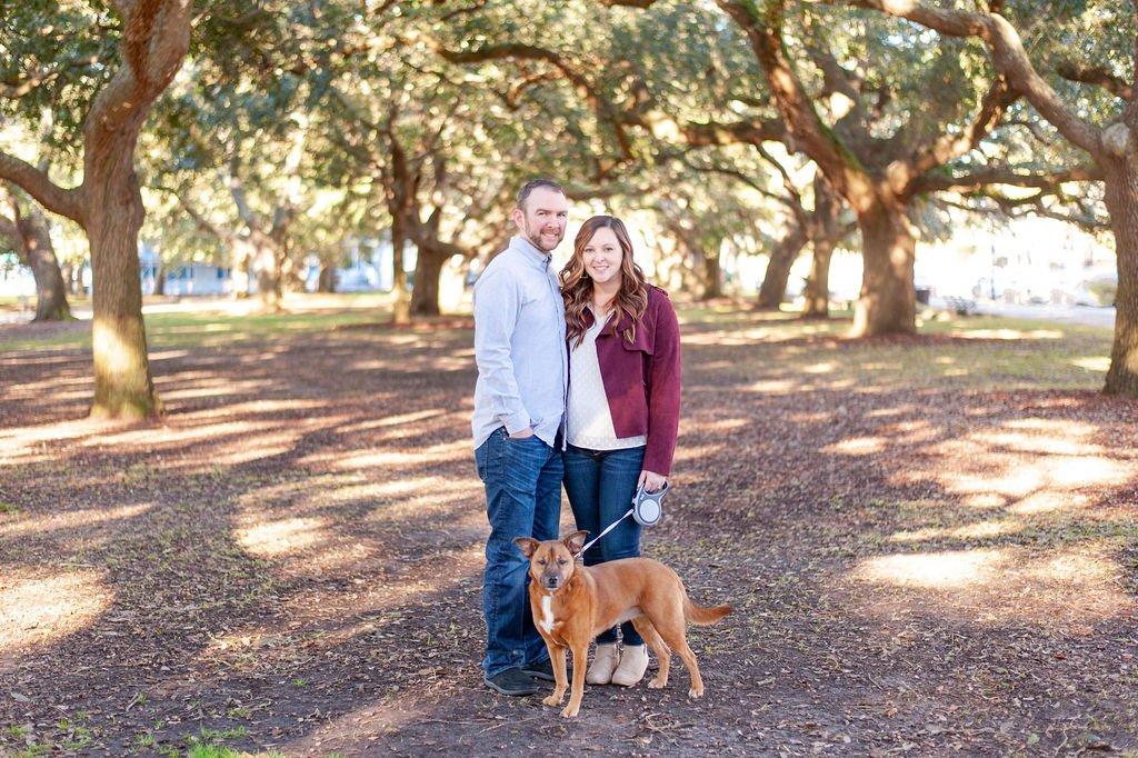 White Point Gardens couples photos