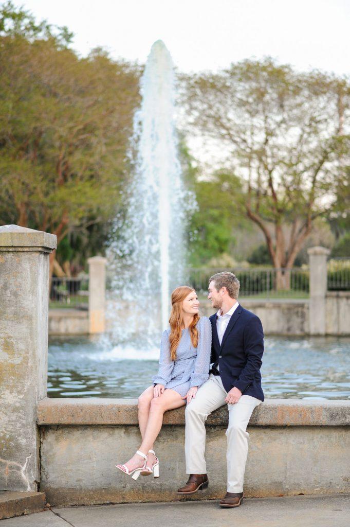 hampton park engagement photos in Charleston, SC