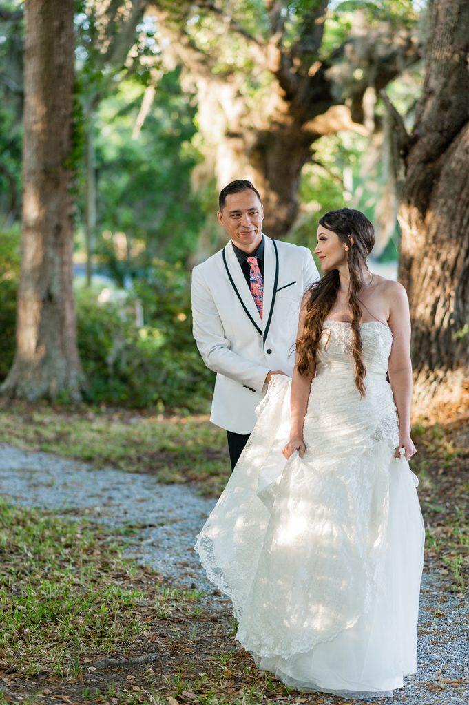 elopement at A Whitehouse Wedding in Charleston, SC