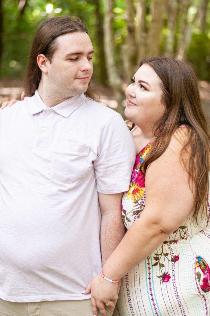 Cypress Gardens engagement photos
