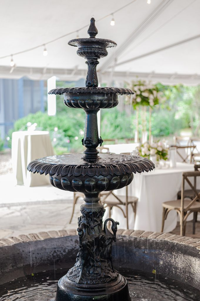 fountain at Legare Waring House