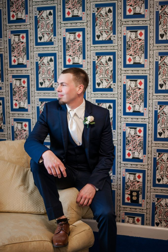 the island house wedding - playing card wallpaper