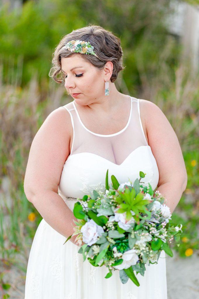 Folly Beach bride