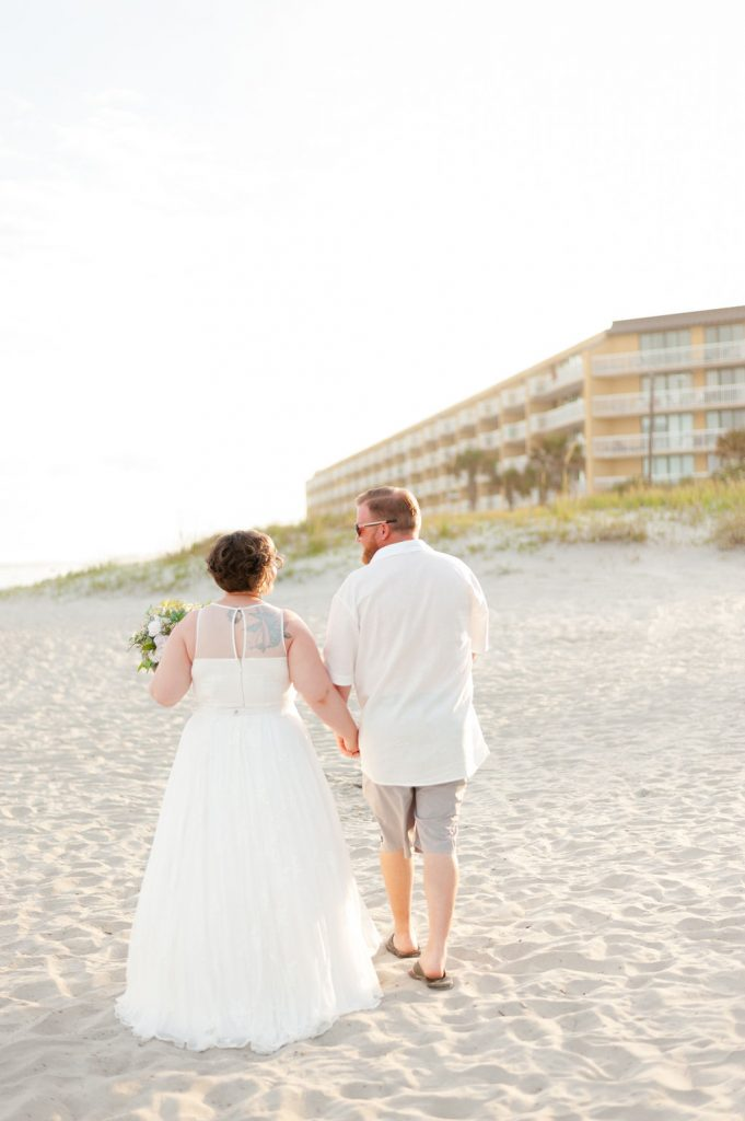 Folly Beach wedding at Tides