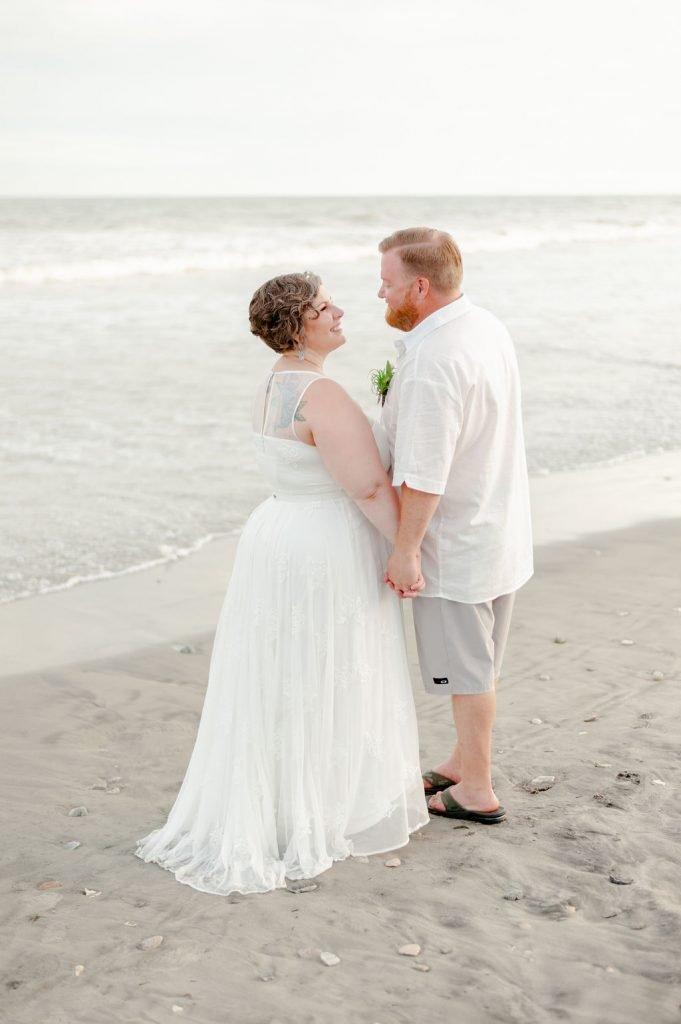 James Island beach wedding